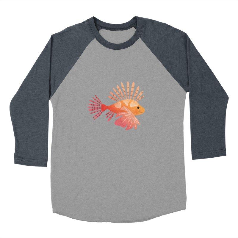 Lionfish Women's Baseball Triblend Longsleeve T-Shirt by theladyernestember's Artist Shop