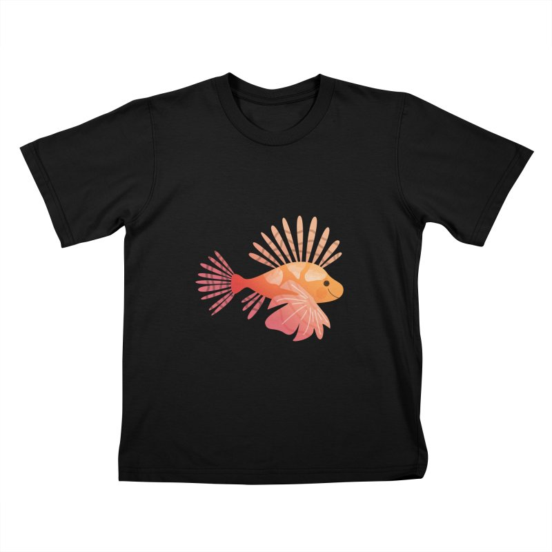 Lionfish Kids T-Shirt by theladyernestember's Artist Shop
