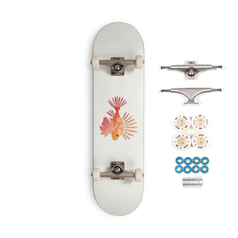 Lionfish Accessories Complete - Premium Skateboard by theladyernestember's Artist Shop