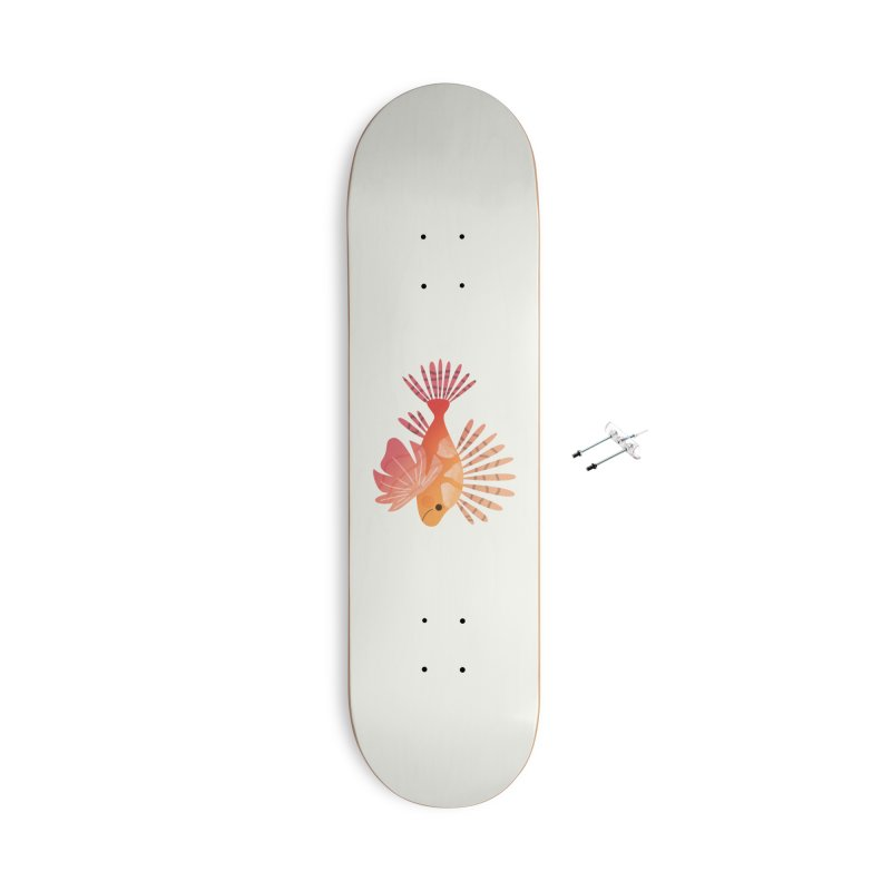 Lionfish Accessories With Hanging Hardware Skateboard by theladyernestember's Artist Shop
