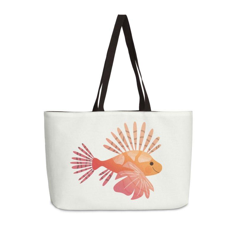 Lionfish Accessories Weekender Bag Bag by theladyernestember's Artist Shop