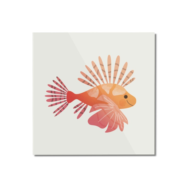 Lionfish Home Mounted Acrylic Print by theladyernestember's Artist Shop