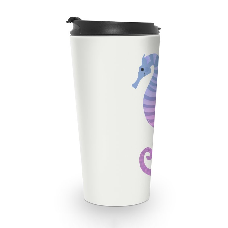Seahorse Accessories Travel Mug by theladyernestember's Artist Shop