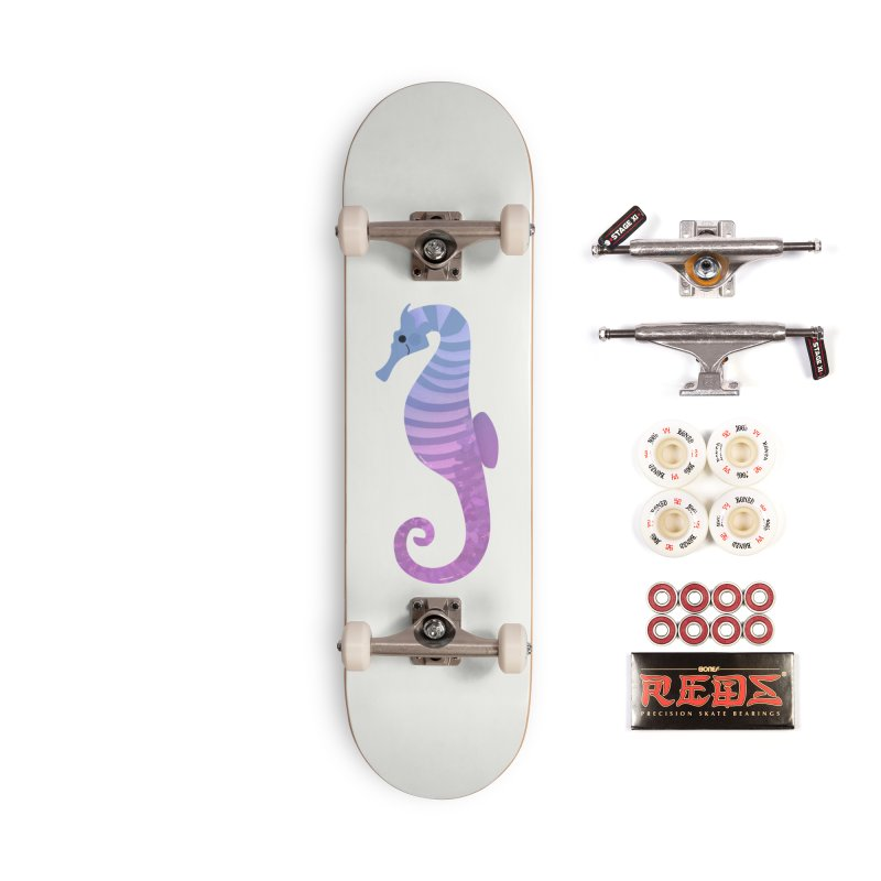 Seahorse Accessories Complete - Pro Skateboard by theladyernestember's Artist Shop