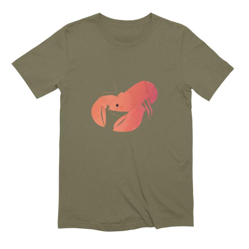 Lobster Men's Extra Soft T-Shirt by theladyernestember's Artist Shop