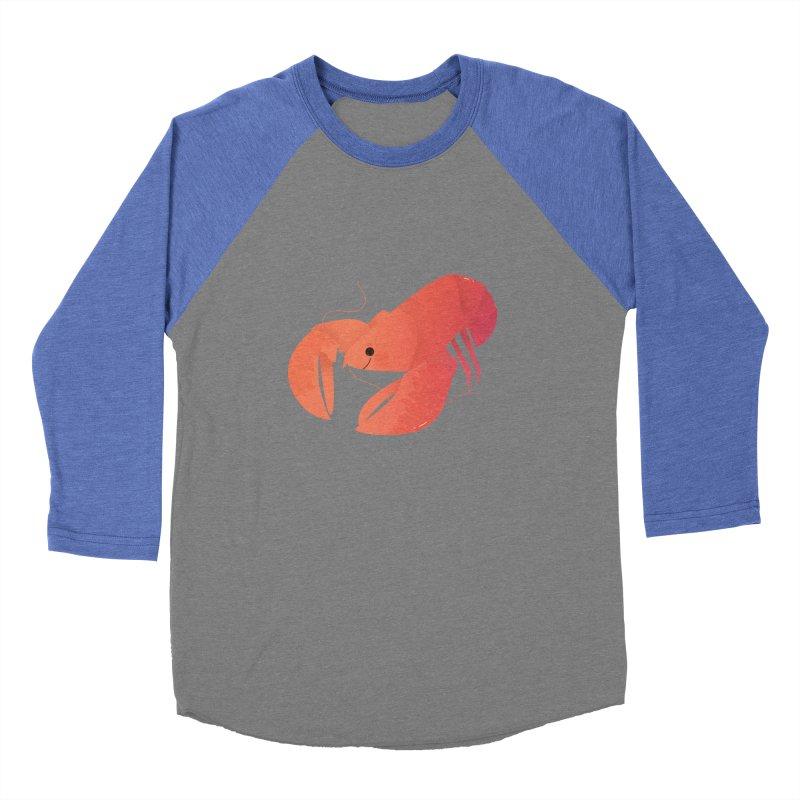 Lobster Women's Baseball Triblend Longsleeve T-Shirt by theladyernestember's Artist Shop