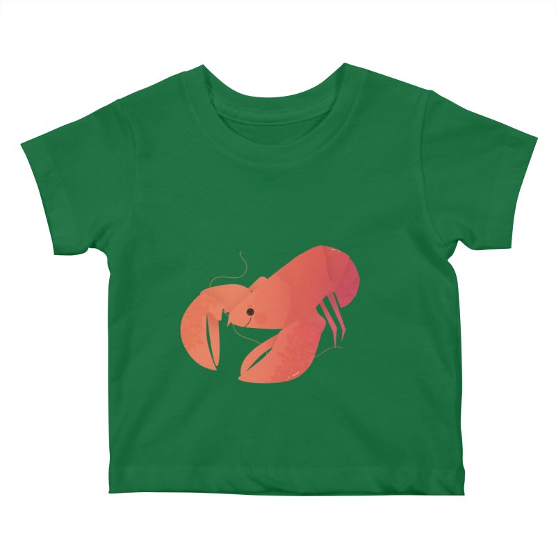 Lobster Kids Baby T-Shirt by theladyernestember's Artist Shop