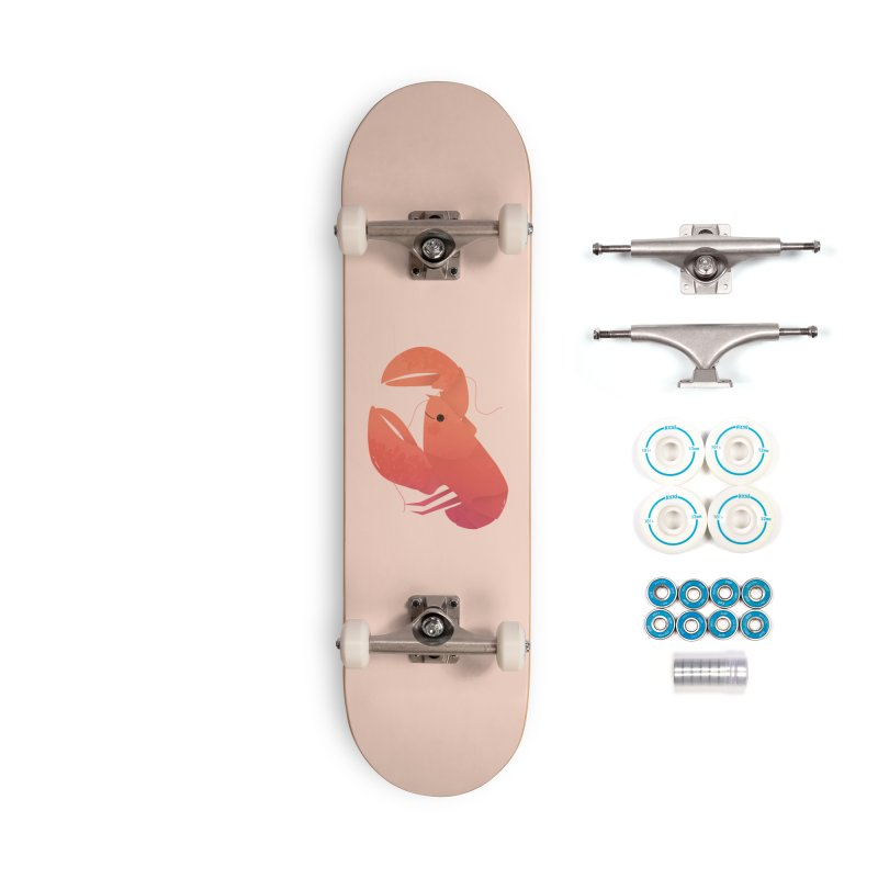 Lobster Accessories Complete - Basic Skateboard by theladyernestember's Artist Shop