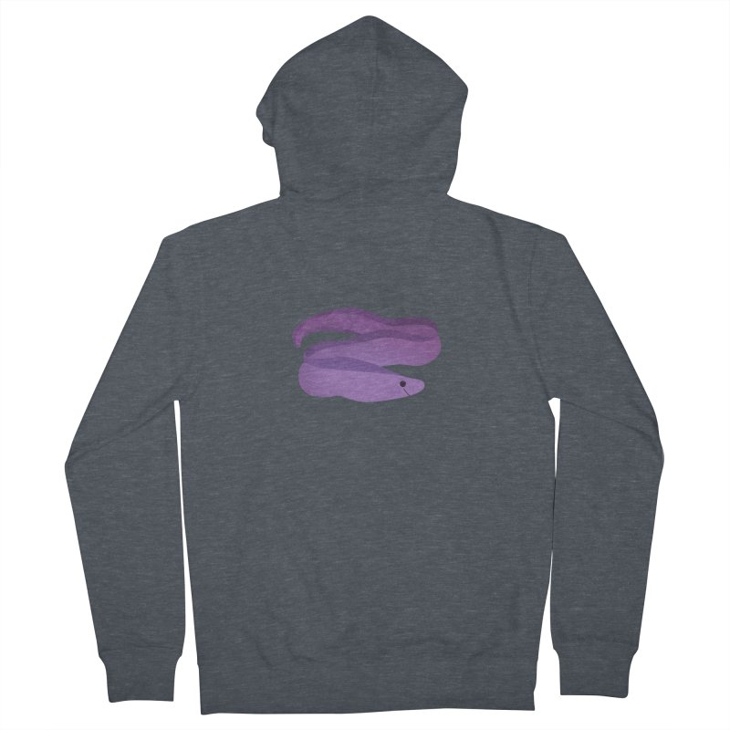Moray Eel Men's French Terry Zip-Up Hoody by theladyernestember's Artist Shop