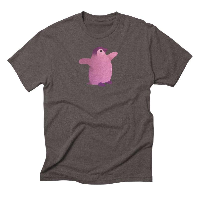 Penguin Men's Triblend T-Shirt by theladyernestember's Artist Shop