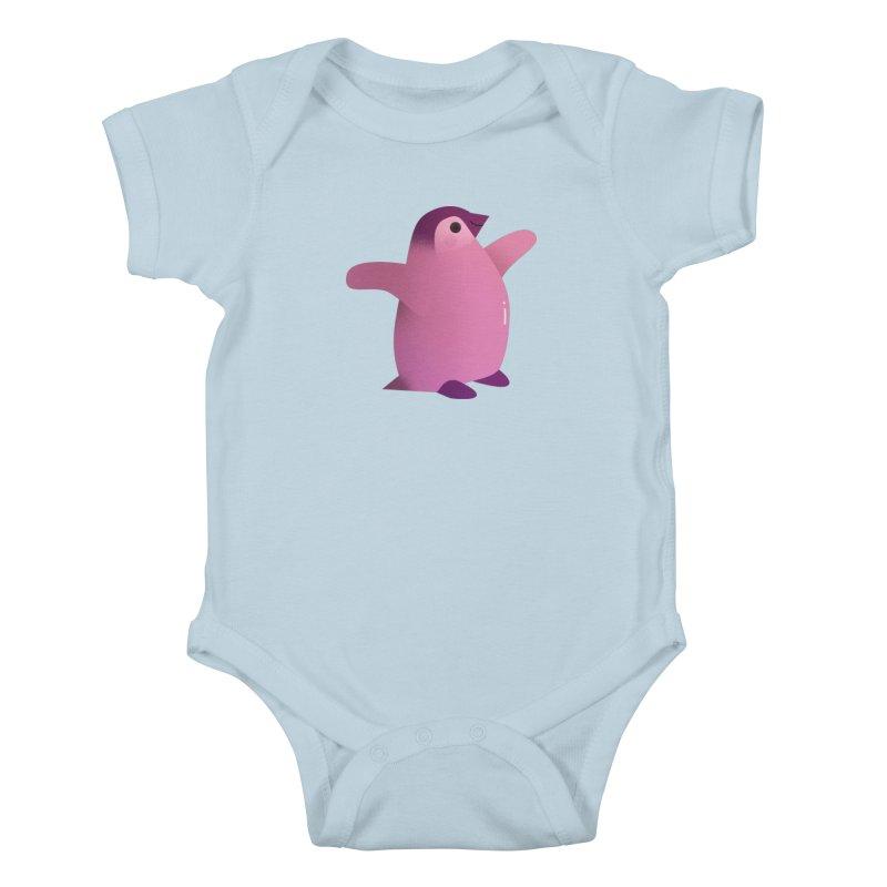 Penguin Kids Baby Bodysuit by theladyernestember's Artist Shop