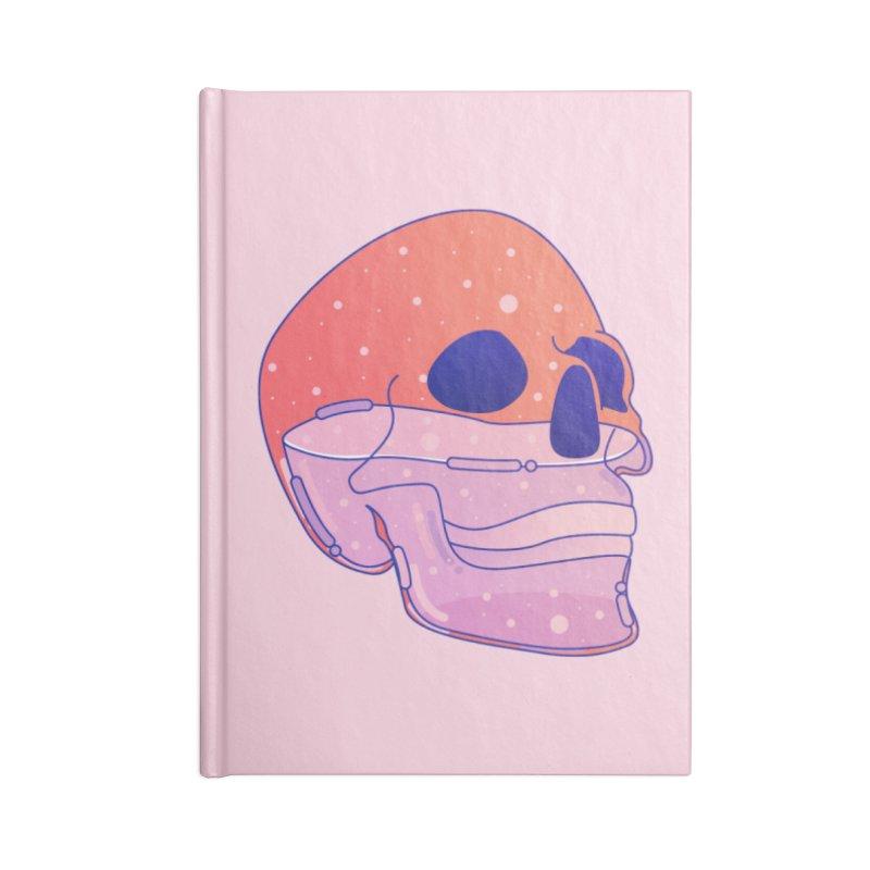 Skull Accessories Blank Journal Notebook by theladyernestember's Artist Shop