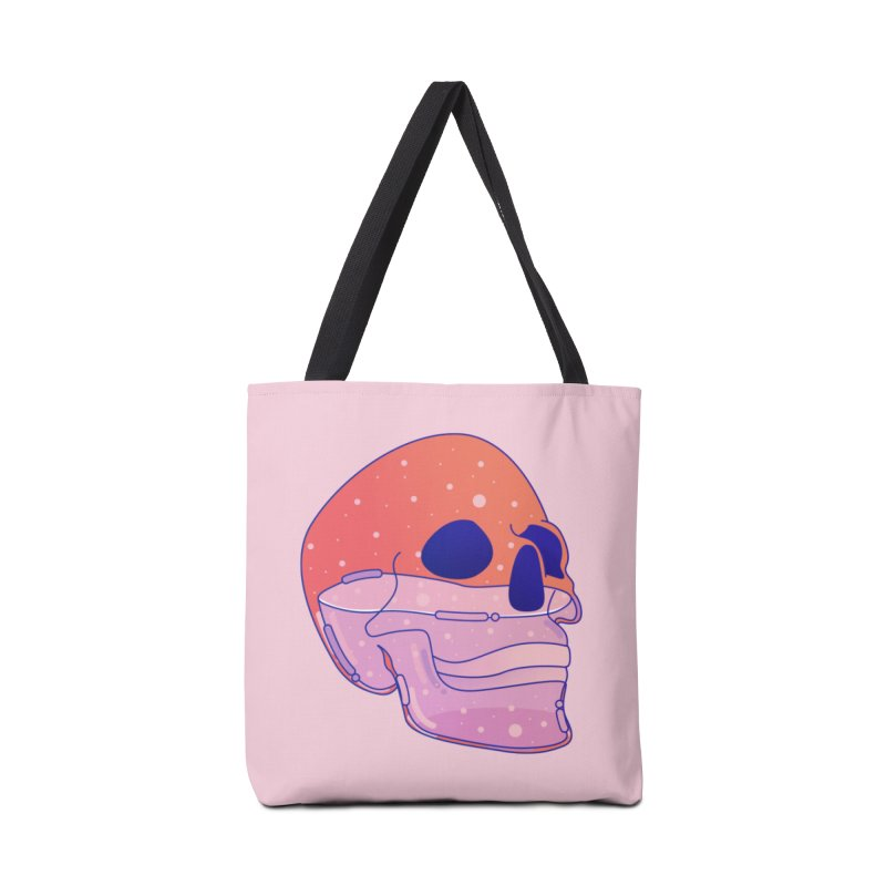 Skull Accessories Tote Bag Bag by theladyernestember's Artist Shop