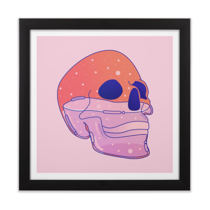 Skull Home Framed Fine Art Print by theladyernestember's Artist Shop