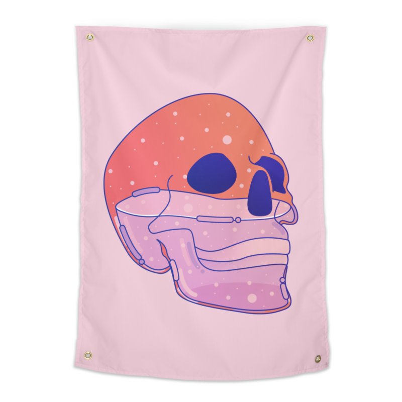 Skull Home Tapestry by theladyernestember's Artist Shop