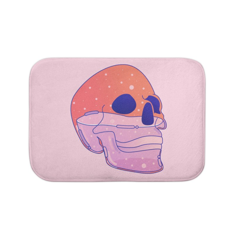 Skull Home Bath Mat by theladyernestember's Artist Shop