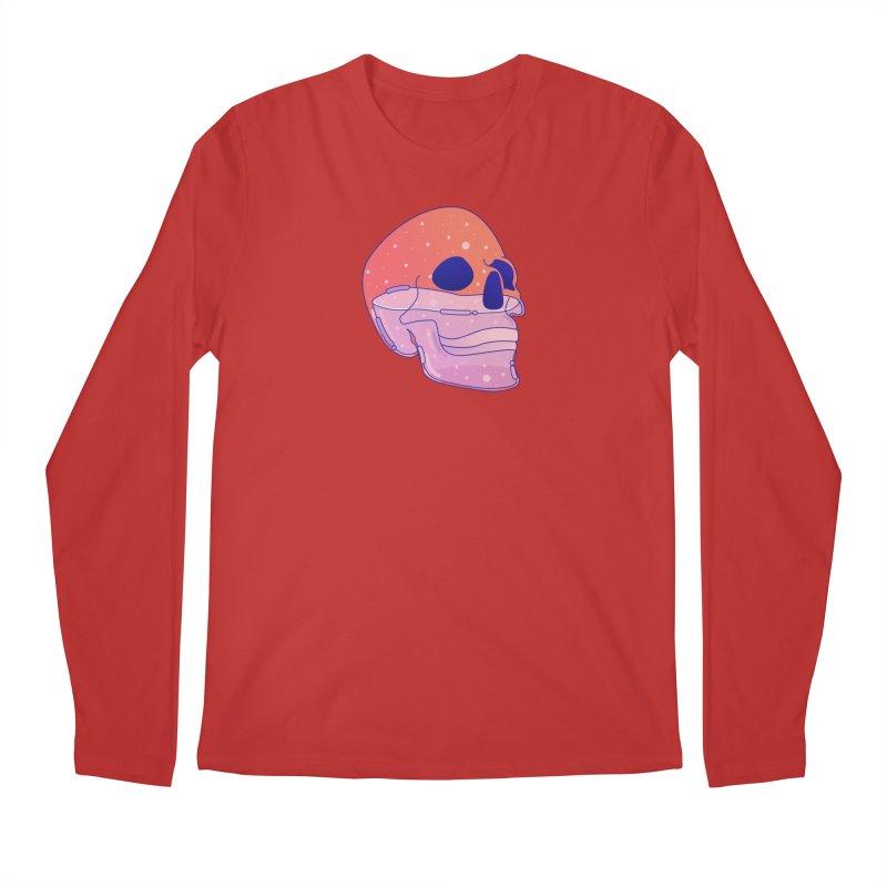 Skull Men's Regular Longsleeve T-Shirt by theladyernestember's Artist Shop