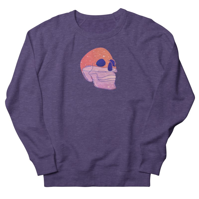 Skull Men's French Terry Sweatshirt by theladyernestember's Artist Shop