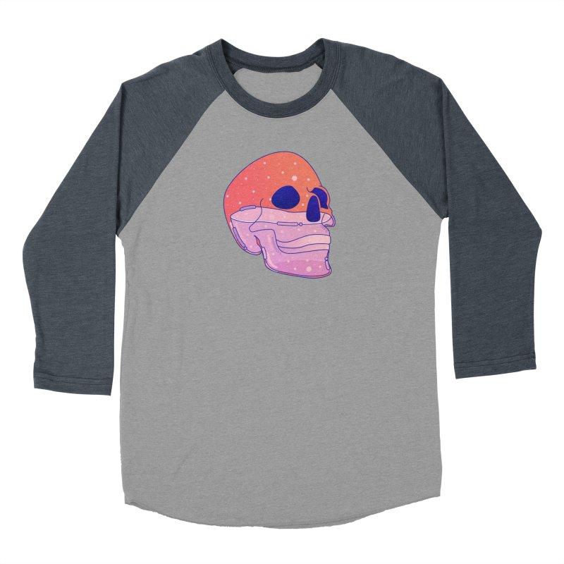 Skull Women's Baseball Triblend Longsleeve T-Shirt by theladyernestember's Artist Shop