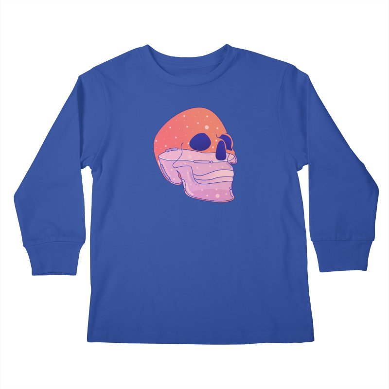 Skull Kids Longsleeve T-Shirt by theladyernestember's Artist Shop