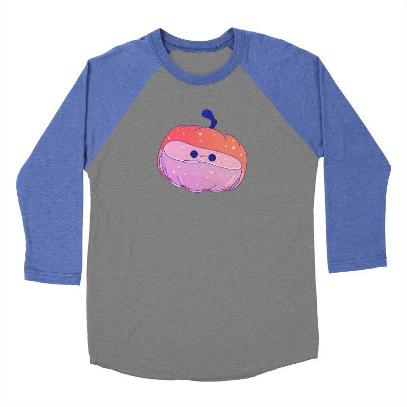 Pumpkin Women's Baseball Triblend Longsleeve T-Shirt by theladyernestember's Artist Shop