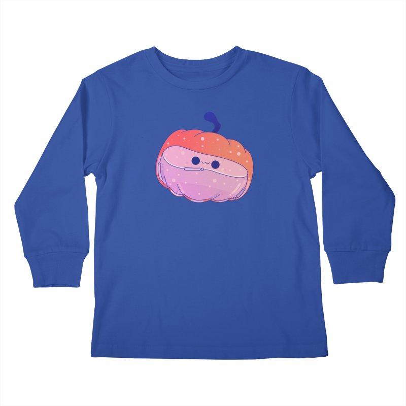 Pumpkin Kids Longsleeve T-Shirt by theladyernestember's Artist Shop