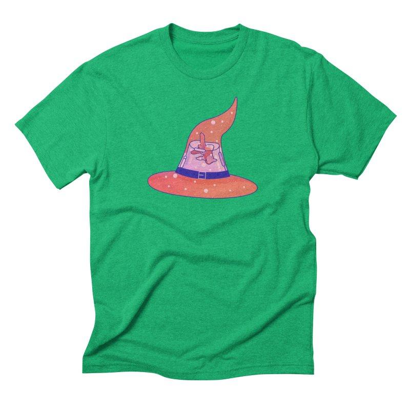 Witch Hat Men's Triblend T-Shirt by theladyernestember's Artist Shop