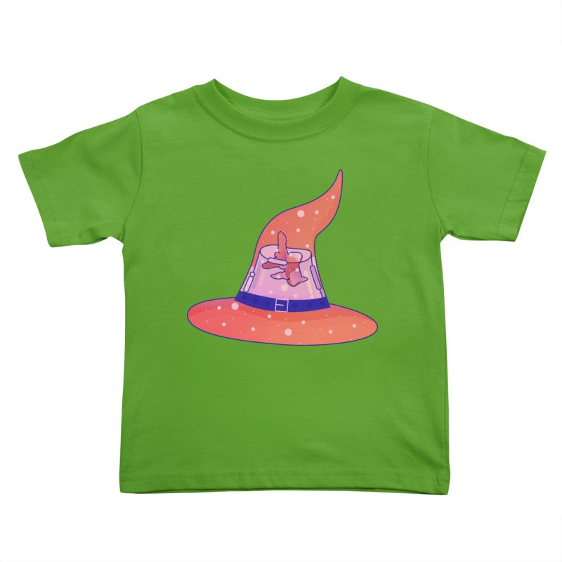 Witch Hat Kids Toddler T-Shirt by theladyernestember's Artist Shop