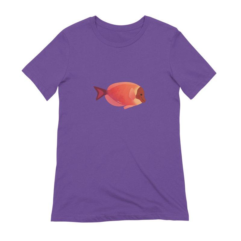 Surgeonfish Women's Extra Soft T-Shirt by theladyernestember's Artist Shop