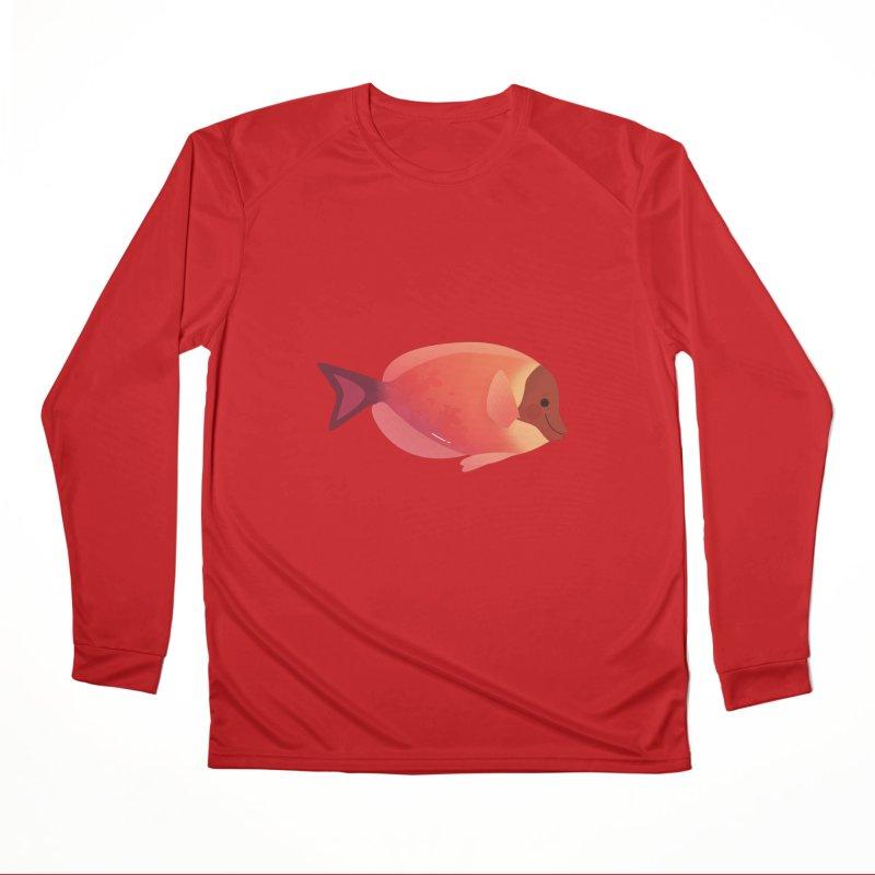 Surgeonfish Men's Performance Longsleeve T-Shirt by theladyernestember's Artist Shop