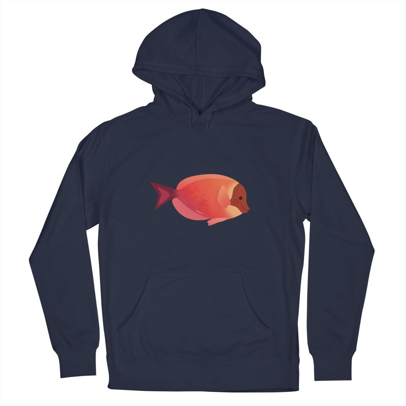 Surgeonfish Women's French Terry Pullover Hoody by theladyernestember's Artist Shop