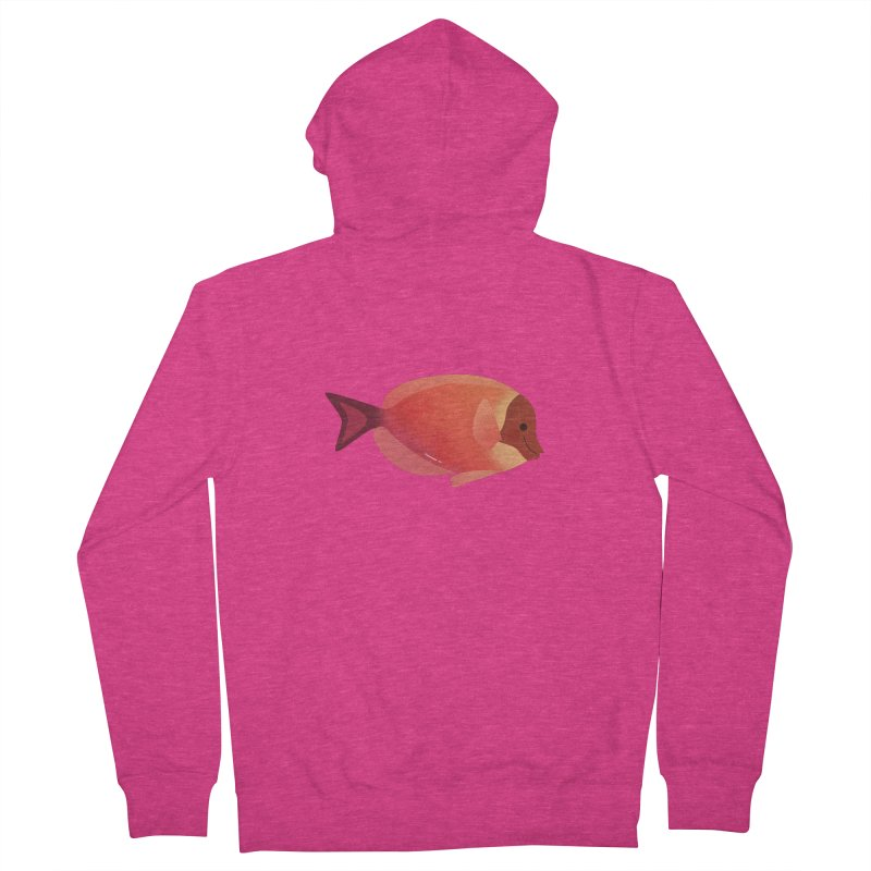 Surgeonfish Women's French Terry Zip-Up Hoody by theladyernestember's Artist Shop