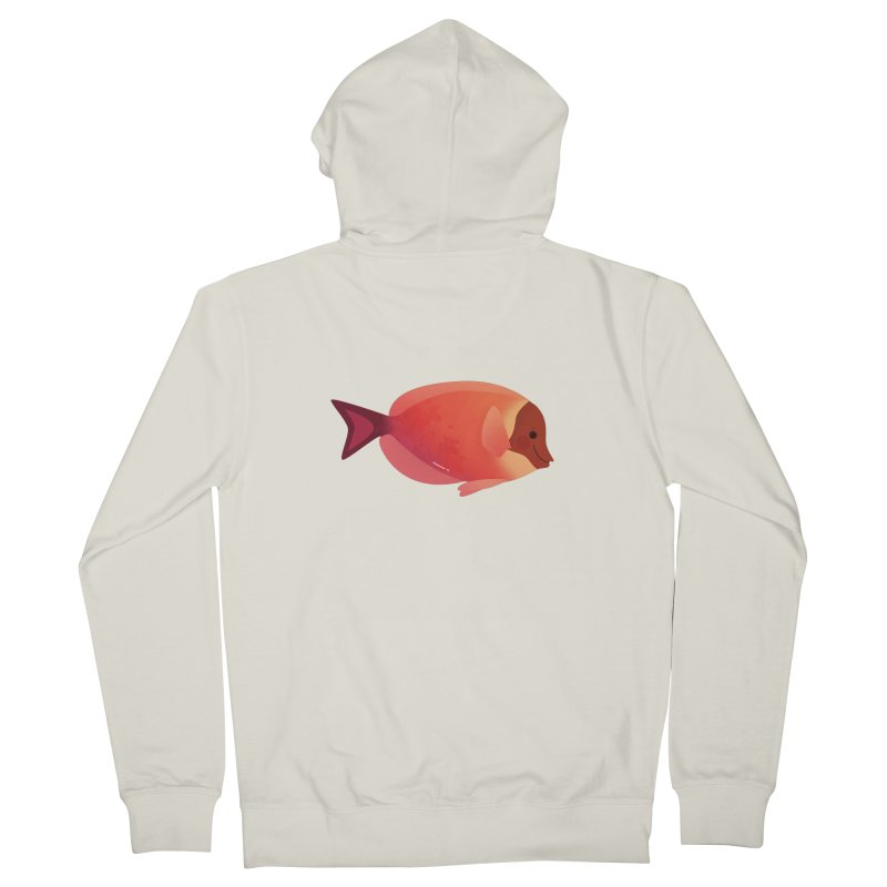 Surgeonfish Men's French Terry Zip-Up Hoody by theladyernestember's Artist Shop