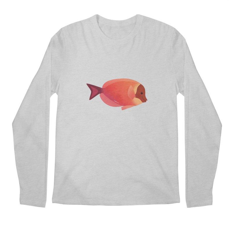 Surgeonfish Men's Regular Longsleeve T-Shirt by theladyernestember's Artist Shop