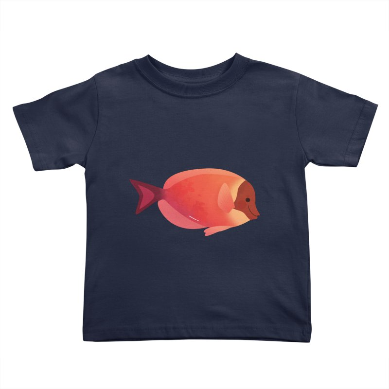 Surgeonfish Kids Toddler T-Shirt by theladyernestember's Artist Shop
