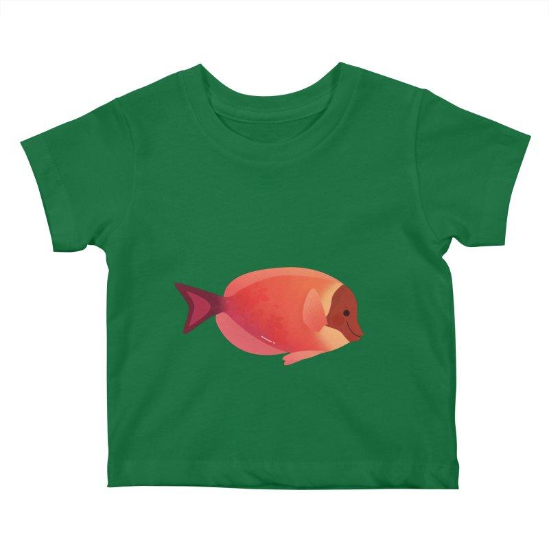 Surgeonfish Kids Baby T-Shirt by theladyernestember's Artist Shop