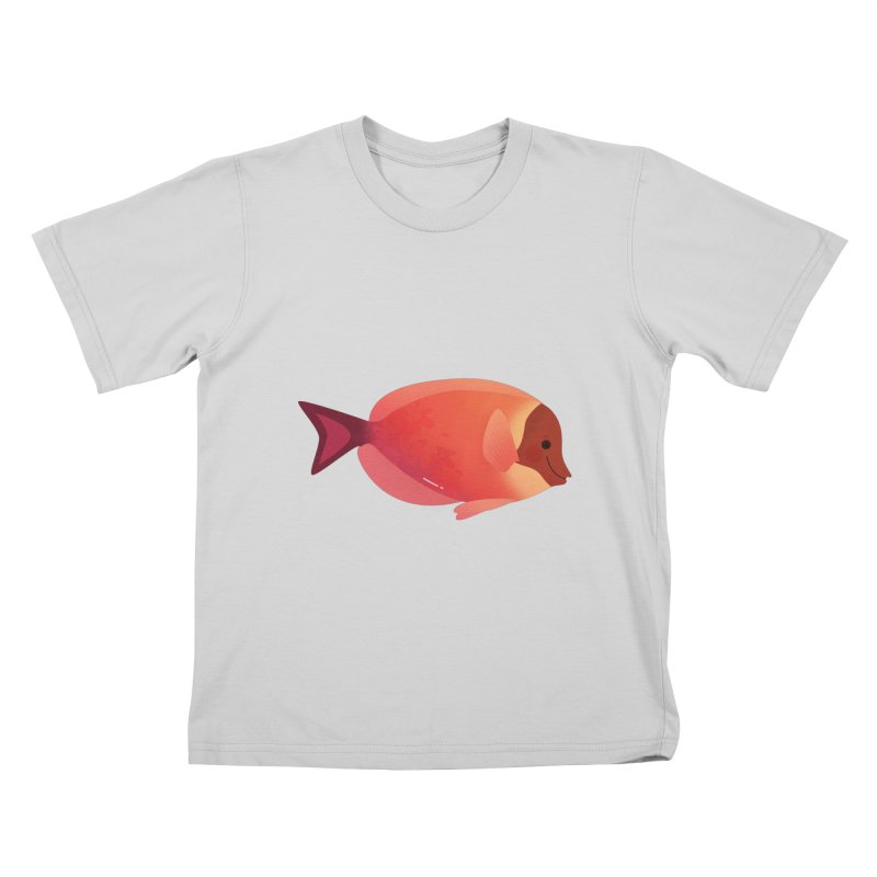 Surgeonfish Kids T-Shirt by theladyernestember's Artist Shop