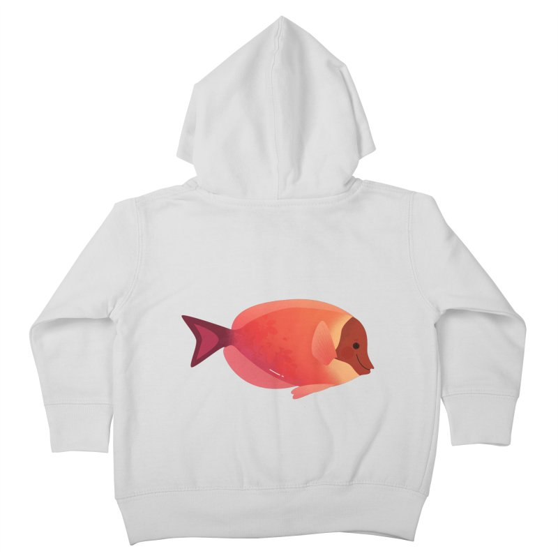 Surgeonfish Kids Toddler Zip-Up Hoody by theladyernestember's Artist Shop