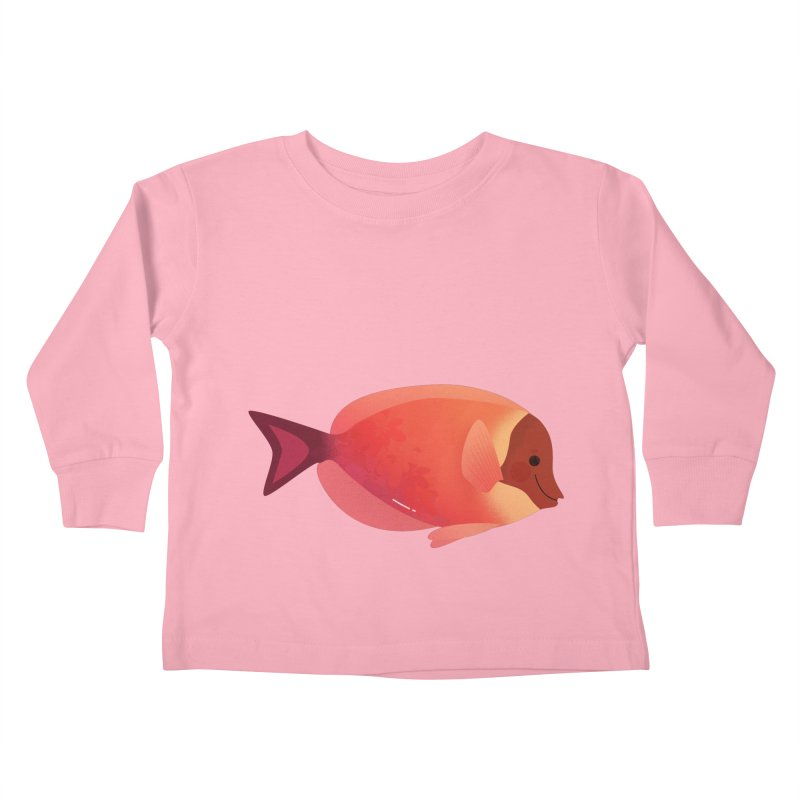 Surgeonfish Kids Toddler Longsleeve T-Shirt by theladyernestember's Artist Shop