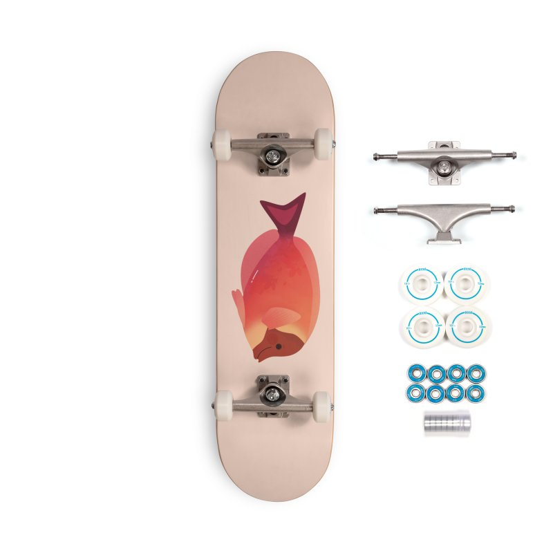 Surgeonfish Accessories Complete - Basic Skateboard by theladyernestember's Artist Shop