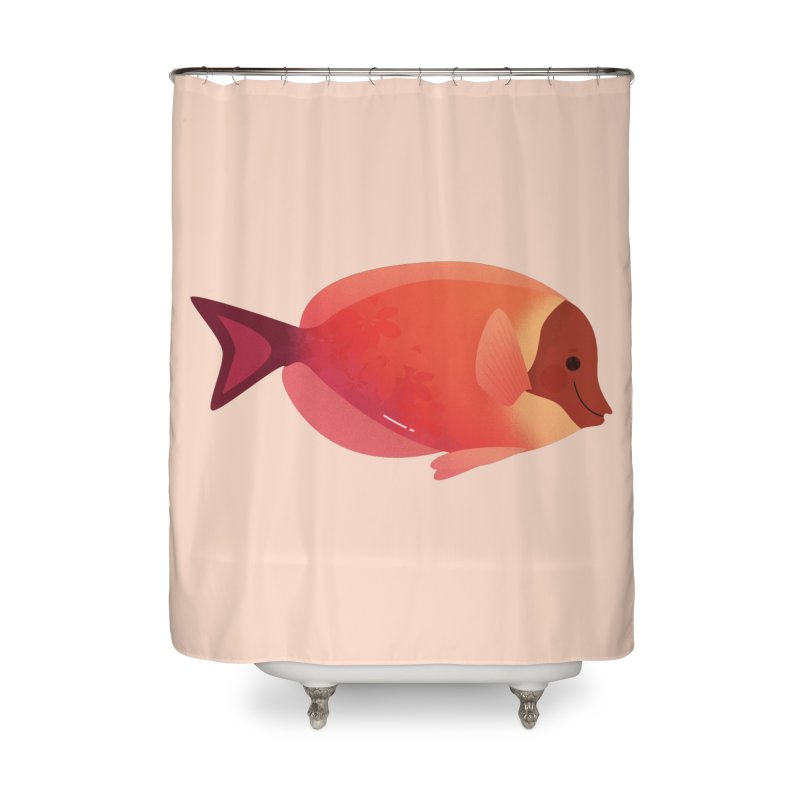 Surgeonfish Home Shower Curtain by theladyernestember's Artist Shop