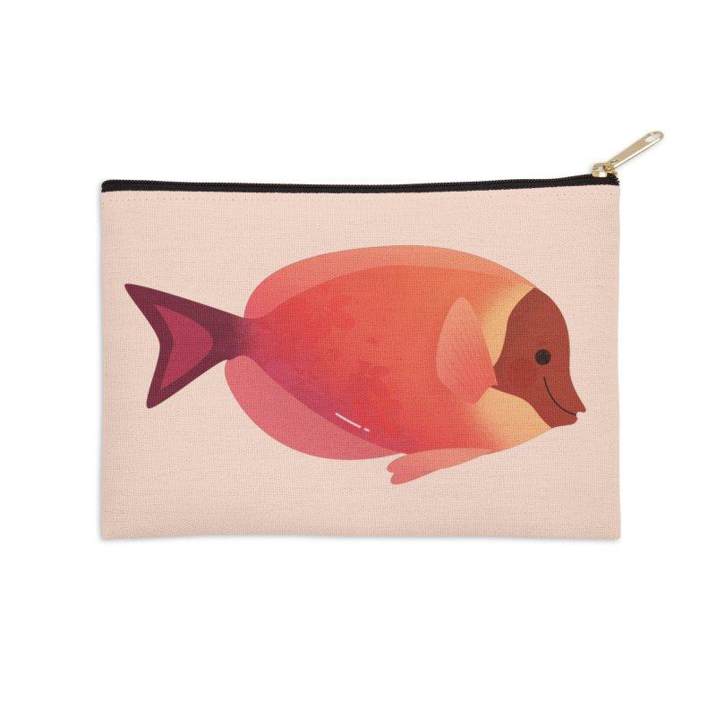 Surgeonfish Accessories Zip Pouch by theladyernestember's Artist Shop