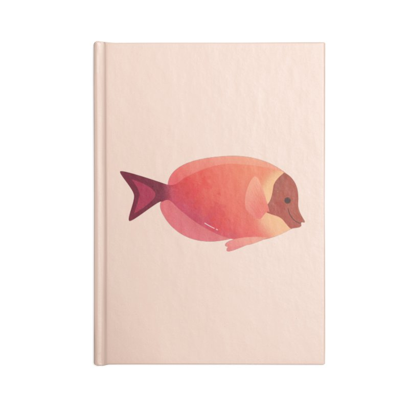 Surgeonfish Accessories Lined Journal Notebook by theladyernestember's Artist Shop