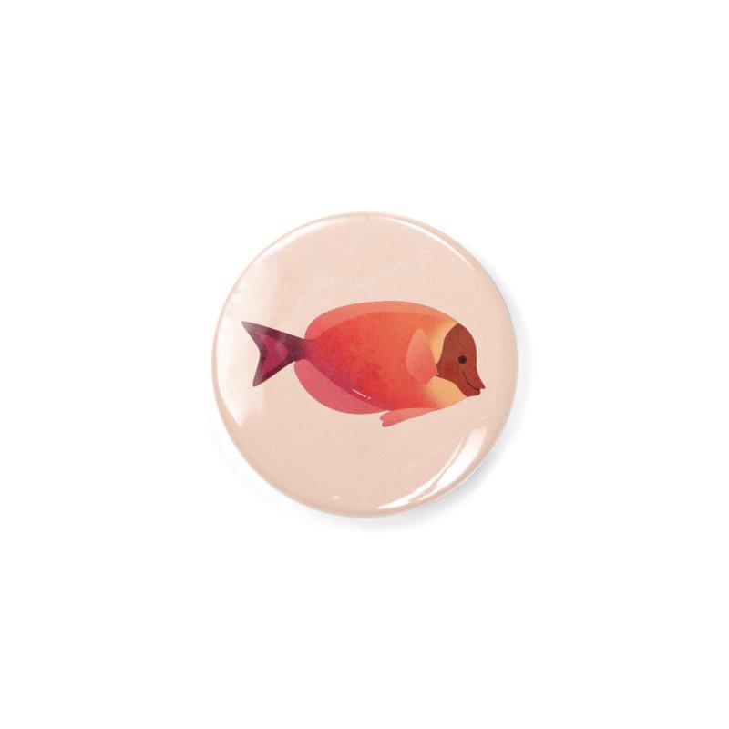 Surgeonfish Accessories Button by theladyernestember's Artist Shop
