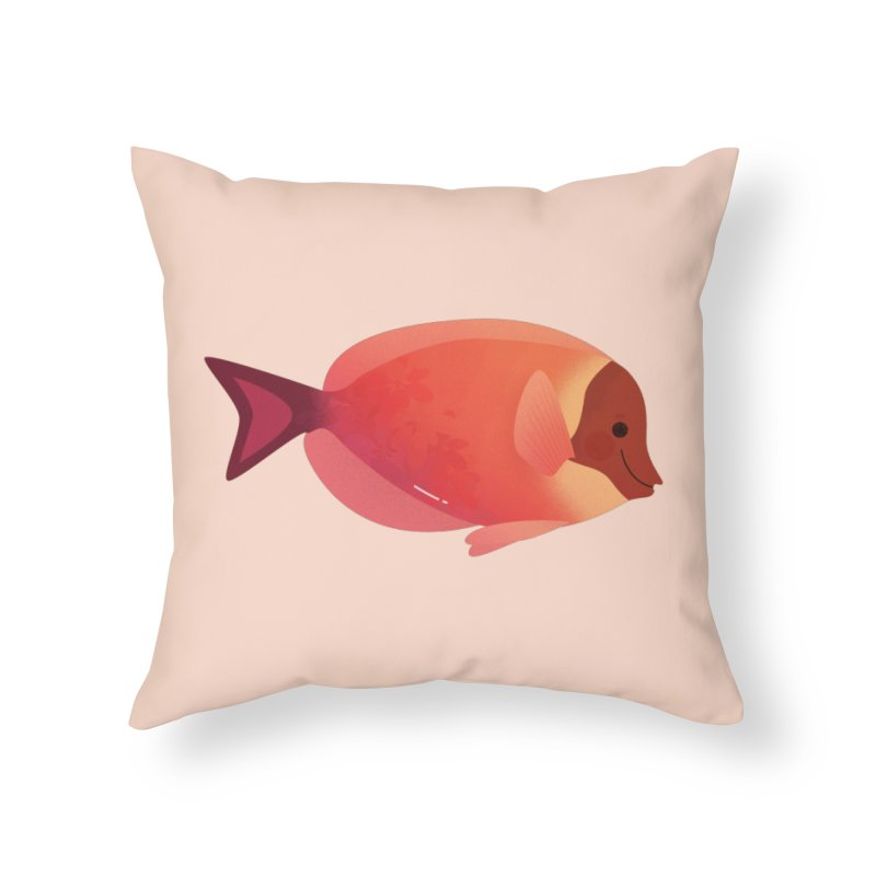 Surgeonfish Home Throw Pillow by theladyernestember's Artist Shop