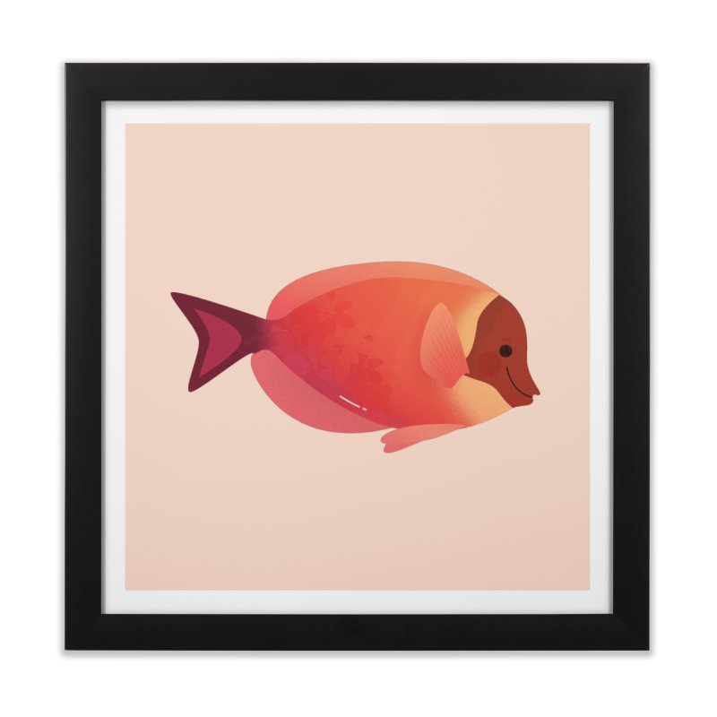Surgeonfish Home Framed Fine Art Print by theladyernestember's Artist Shop