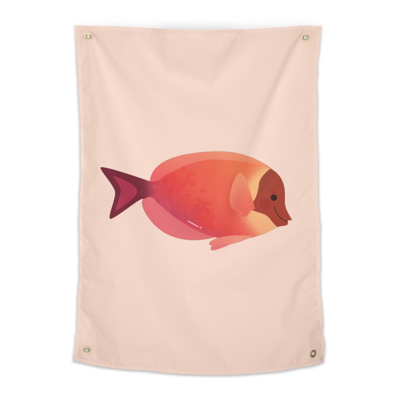 Surgeonfish Home Tapestry by theladyernestember's Artist Shop