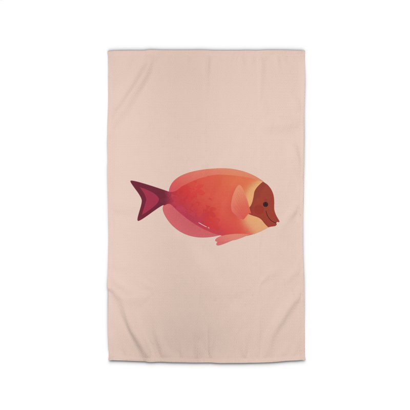 Surgeonfish Home Rug by theladyernestember's Artist Shop
