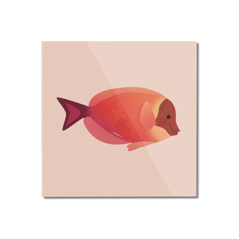 Surgeonfish Home Mounted Acrylic Print by theladyernestember's Artist Shop