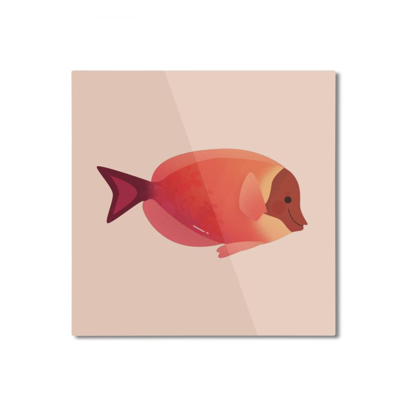 Surgeonfish Home Mounted Aluminum Print by theladyernestember's Artist Shop